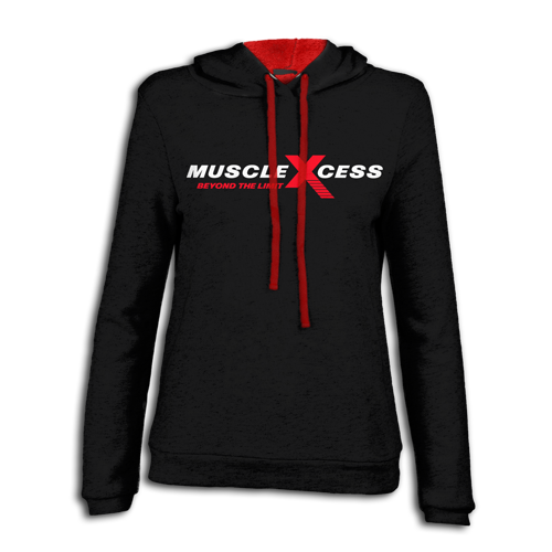 d9b81f5058 Contrast Pullover Hoodie - Muscle Xcess