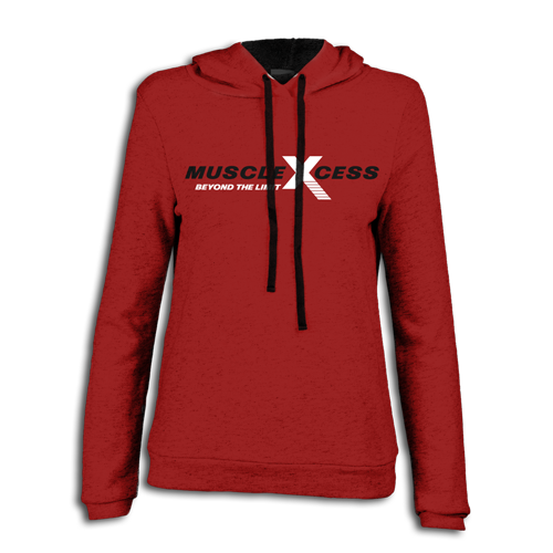 Contrast Pullover Hoodie